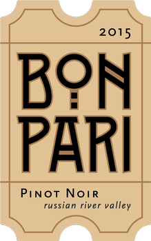 2015 Bon Pari Russian River Valley Pinot Noir Image