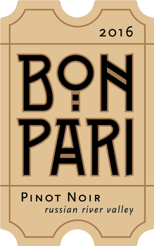 2016 Bon Pari Russian River Valley Pinot Noir